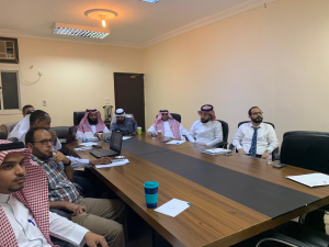 The Quality Committee at the College of Computing in Al-Qunfudhah Holds a Course Entitled: 'How to Prepare Quality Files'