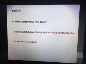 دورة بعنوان: (توجيهات لمشروع التخرج ١)