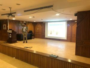 Department of Chemistry Holds a Scientific Seminar Entitled: 'The Five-Letter Language: Words Not Like Other Words'