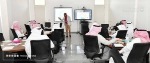 عميد كلية الحاسب الآلي بالليث يشارك ضمن اللقاء البحثي لإدارة الاتصال المؤسسي بالجامعة