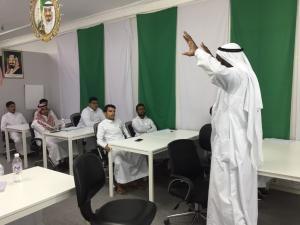كلية الحاسب تنظم محاضرة بعنوان (طرق الحصول على وظيفة بدون واسطة)