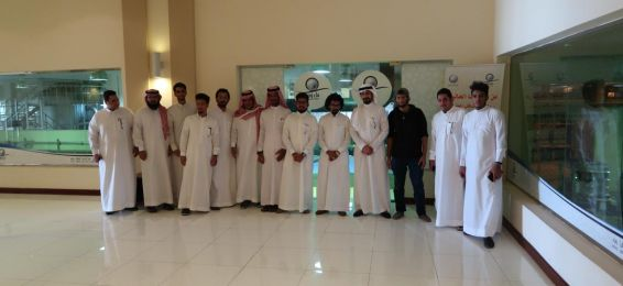 طلاب قسم الكيمياء في زيارة لمشروع الملك عبدالله بن عبدالعزيز لسقيا زمزم
