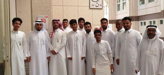 استقبال الطلاب المستجدين في كلية إدارة الأعمال