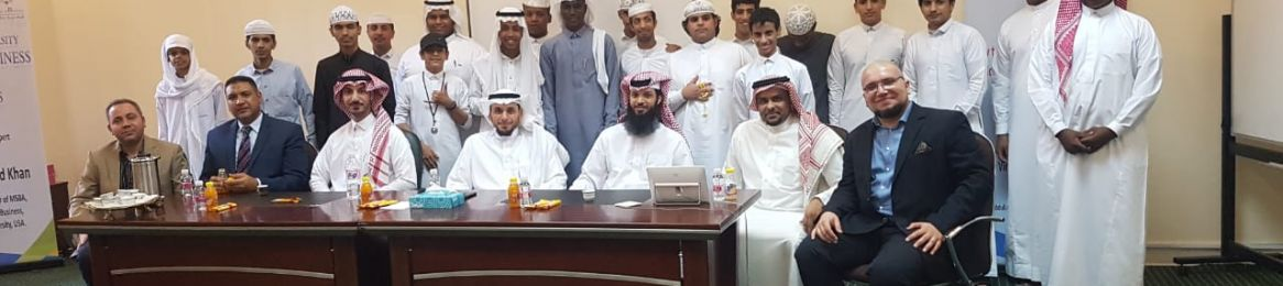 Zat Al-Sawari Secondary School Students in Makkah Are Guests at the College of Business Administration