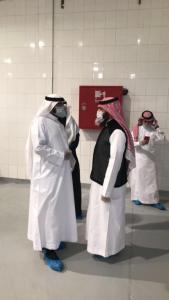 طلاب قسم إدارة أعمال الحج والعمرة يزورون مكتب الزمازمة الموحد