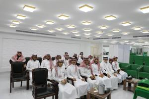 Students at the Department of Business Administration of Hajj and Umrah Visit the Haji and Mu`tamir's Gift Charity Association