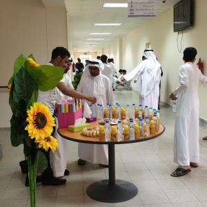 Organizing a Reception for New Students in the College of Business Administration
