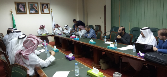 The Programs Supervisory Committee in the College of Education Holds Its Regular Meeting