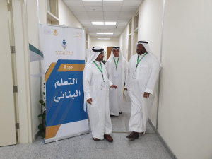 General Supervisor of Vocational Education Development at the Ministry of Education Visits the Headquarters of the Teachers Summer Training Program