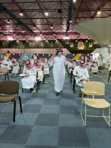 كلية التربية تنظم اختبارات القبول للطلبة المتقدمين لمرحلة الدكتوراه مع الالتزام بالإجراءات الاحترازية