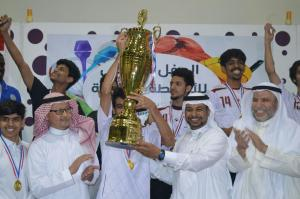 Education College Wins 2nd Place in UQU Football Championship
