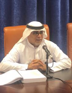 مناقشة رسالة دكتوراة للطالبة ندي حسن باجودة في تخصص الإدارة التربوية والتخطيط