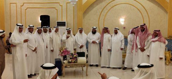 حفل تكريم سعادة عميد كلية التربية السابق د. علي المطرفي
