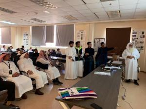 Dr. Abdul-Qadir Amir Visits the College of Engineering and Islamic Architecture