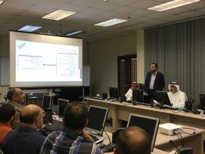 كلية الهندسة والعمارة الإسلامية تنظم ورشة عمل حول استخدام برنامج (قاس)