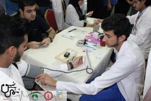 The Heart Club at the College of Medicine Organizes the Nabd (Pulse) Campaign in Jeddah