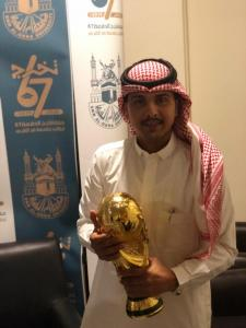 The College of Social Sciences Wins the President of the University's Football Cup for the Second Consecutive Year