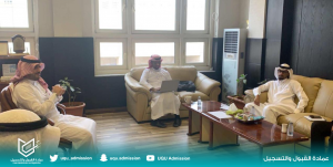 The Deanship of Admission and Registration Holds a Meeting with the Deanships of Information Technology and the Postgraduate Studies
