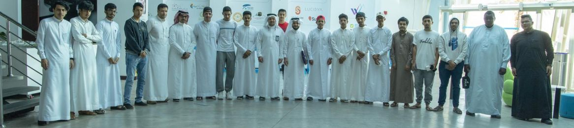 The Academic Staff and Students of the College of Designs Visit Wadi Makkah Technology Company