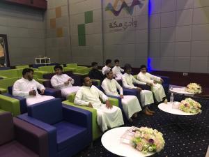 زيارة طلاب كلية التصاميم لشركة وادي مكة