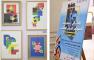 برنامج التصميمات المطبوعة والإعلان يشارك في معرض كلية الفنون التطبيقية بمصر