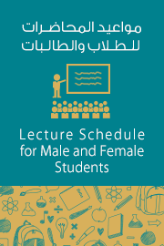 Lectures Schedule for Male and Female Students