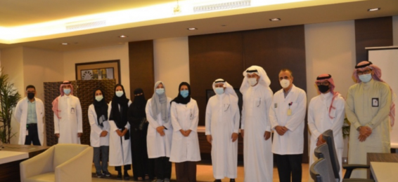 The School Health Affairs Team in the Department of Education and the Health Cluster Visit the College of Dentistry