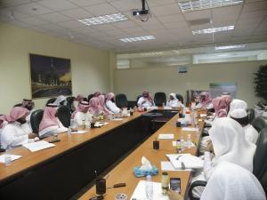 عمادة البحث العلمي تنظم حلقة نقاش حول إسهامات علماء المسلمين في علم المنطق