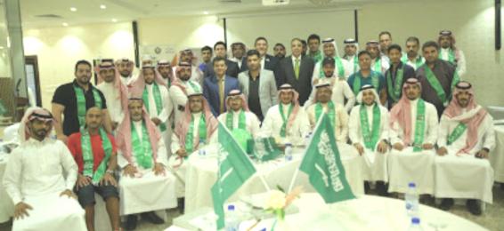 سعادة الدكتور يوسف الثبيتي يحاضر في دورة إدارة وتنظيم الفعاليات الرياضية