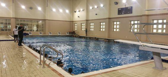إعلان عن دورة تعليم السباحة لمنسوبي الجامعة وأبنائهم