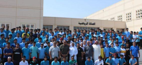 برعاية معالي مدير الجامعة انطلاق المعسكر السنوي لطلاب قسم التربية البدنية