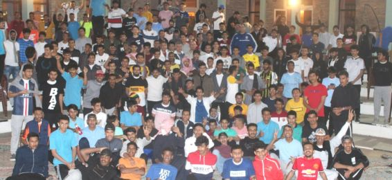 The Closing Ceremony for the Annual Camp of the Students of the Department of Physical Education
