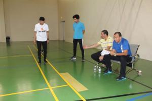 انتهاء اختبارات الطلاب المحولين لقسم التربية البدنية