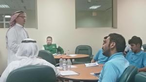 دورة (إدارة الفعاليات الرياضية) بين معهد إعداد القادة والتربية البدنية
