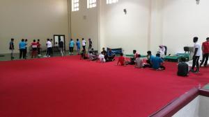 انتهاء إجراءات اختبار المتقدمين إلى قسم التربية البدنية