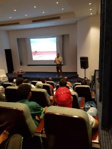 A Lecture on Athletic Health in Collaboration with Research Institute and Ahli Jeddah Club