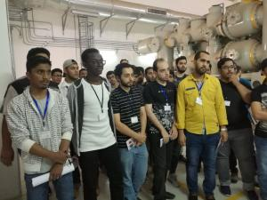 Electrical Engineering Students Visit Electricity Company in Makkah
