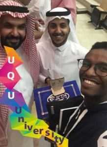 قسم الهندسة الكهربائية يهنئ الطالب فهد القرشي لحصوله على لقب قدوة الكلية