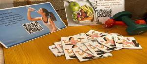 مركز اللغة الإنجليزية ينظم فعالية (يوم اللياقة البدنية) باللغة الإنجليزية