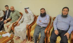 حفل تكريم الدكتور علي أبوالريش والأستاذة سهام بخاري