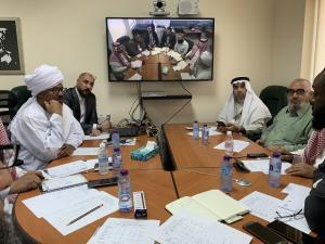 اجتماع المركز لمتابعة سير العملية التعليمية