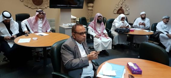 College of Shari`ah and Islamic Studies Holds a Training Course on Using the E-Learning Portal
