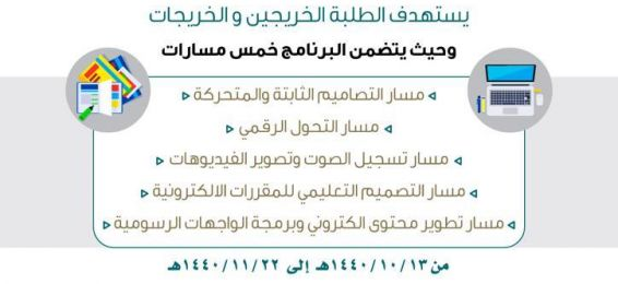 Commencement of Registration for the Summer Training Program