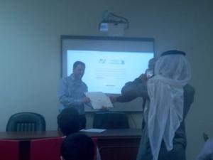 Deanship of E-Learning Organizes a Workshop Entitled: 'Digital Learning Platforms: Safe Environment and Better Output'
