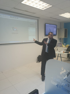 Training Course at the College of Business Administration on the Virtual Classroom System