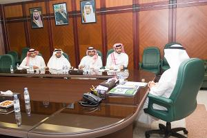 Dean of E-learning and Distance Education Visits King Abdulaziz University in Jeddah