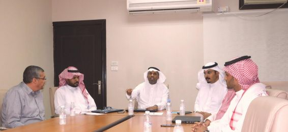 The Meeting of the Dean of the College of Engineering with the Leaders of the College of Engineering in Al-Qunfudhah