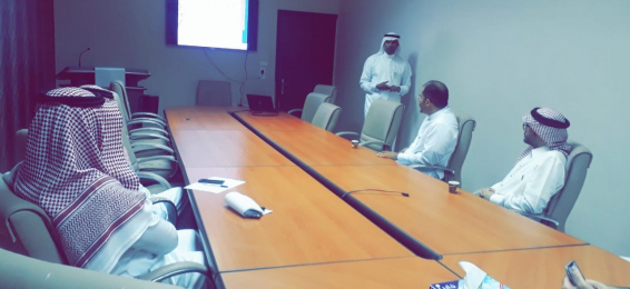 The Visit of the Dean of the Deanship of Information Technology to the College of Engineering in Al-Qunfudhah
