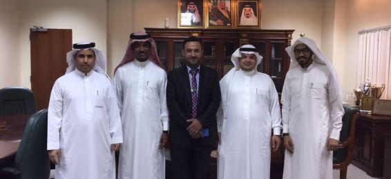 Al-Tomouh Public Secondary School Students Visit Applied Sciences College