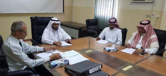 مجلس كلية العلوم الصحية يعقد اجتماعه الثاني
